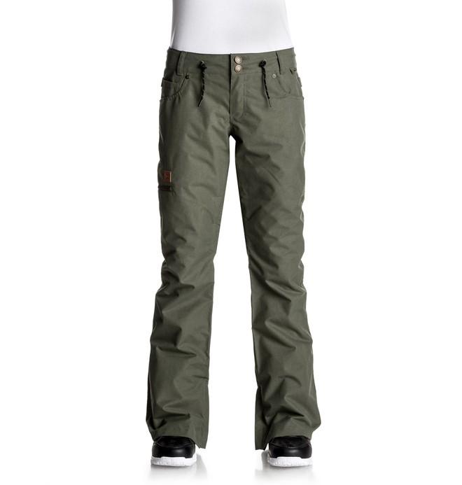 0 Viva - Snow Pants Green EDJTP03012 DC Shoes