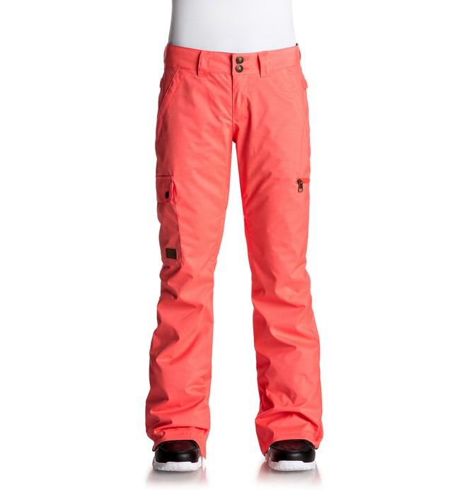 0 Recruit - Snow Pants Pink EDJTP03013 DC Shoes