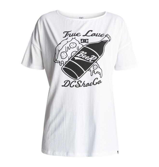 0 Tchonga Loose - T-Shirt White EDJZT03060 DC Shoes