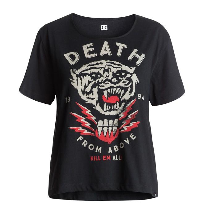 0 Tygurr - Cropped T-Shirt Black EDJZT03062 DC Shoes