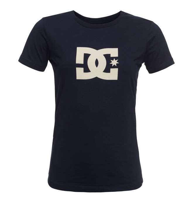 0 Star - Camiseta Azul EDJZT03084 DC Shoes