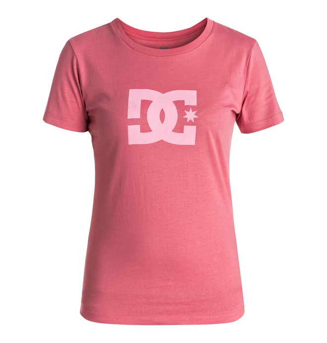 0 Star - Camiseta Rosa EDJZT03084 DC Shoes