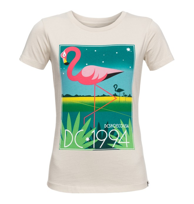 0 Key Bay - T-Shirt Grau EDJZT03086 DC Shoes