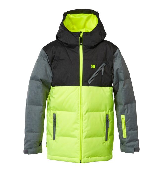 0 Boy's Noise Snow Jacket Black EDKTJ00000 DC Shoes