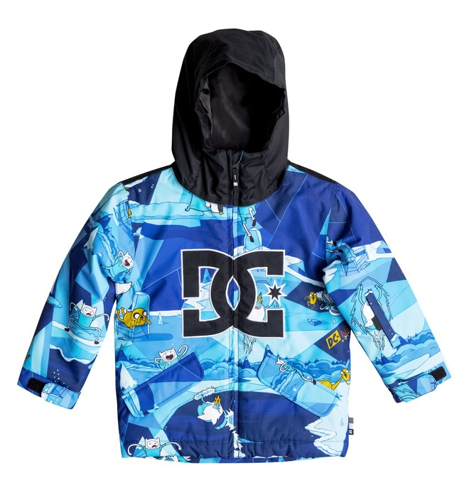 0 Critter - Snow Jacket Blue EDKTJ03002 DC Shoes