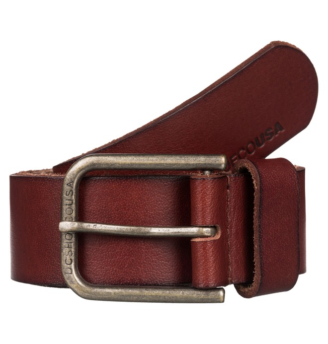 0 Archery - Leather Belt  EDYAA03051 DC Shoes