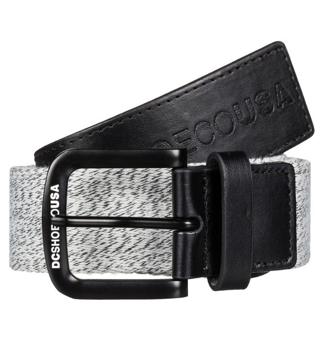 0 Fabrics Mix - Webbing Belt Black EDYAA03052 DC Shoes