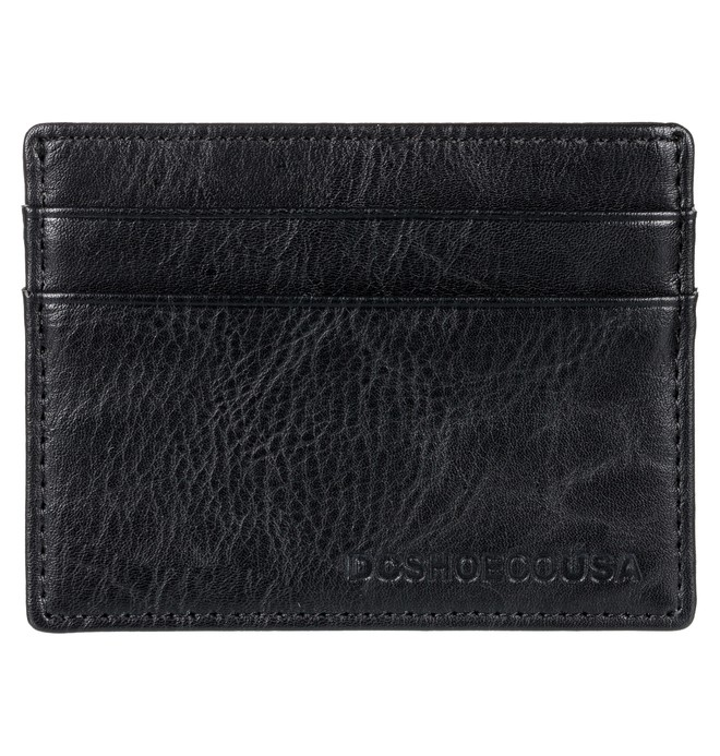 0 Men's Hold It Card Holder Wallet Black EDYAA03126 DC Shoes
