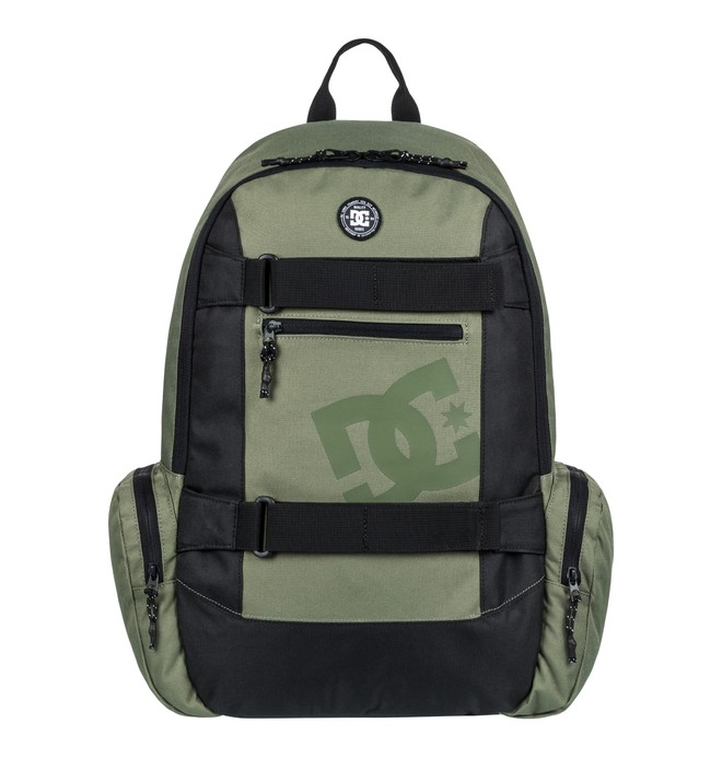 0 The Breed 26L - Medium Backpack Green EDYBP03135 DC Shoes