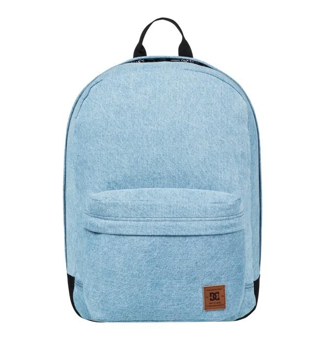 0 Men's 18.5L Backstack Fabric Medium Backpack Blue EDYBP03145 DC Shoes