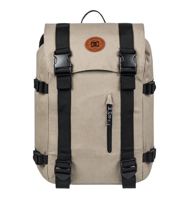 0 Men's 23L Crestline Medium Backpack Brown EDYBP03166 DC Shoes