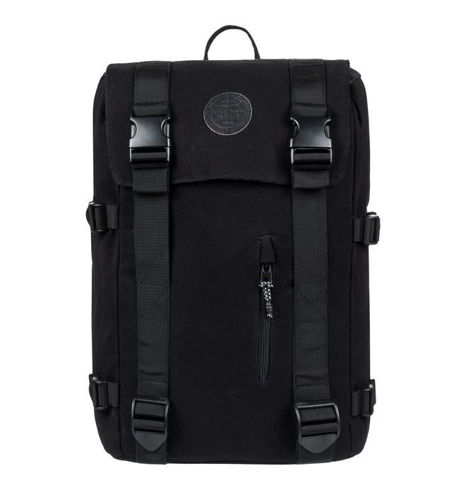 0 Men's 23L Crestline Medium Backpack Black EDYBP03166 DC Shoes