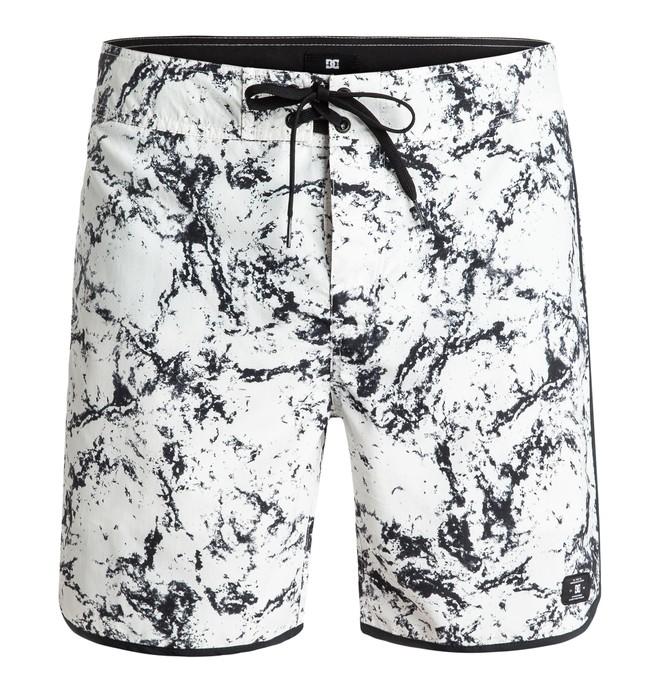 "0 Burlison 17"" - Board Shorts Blanco EDYBS03050 DC Shoes"