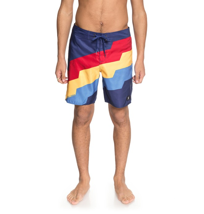 "0 Step Up 18"" - Boardshort Bleu EDYBS03066 DC Shoes"