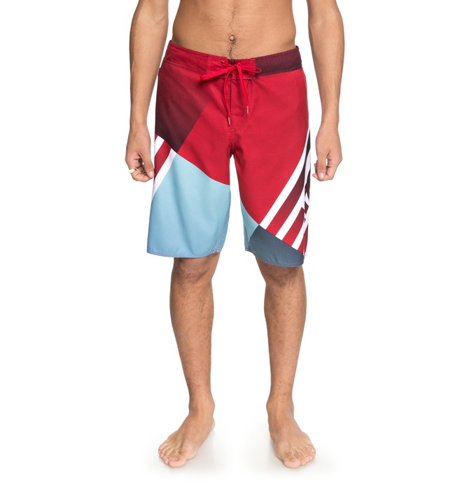 """0 Men's Verticular 21"""" Boardshorts Red EDYBS03070 DC Shoes"""