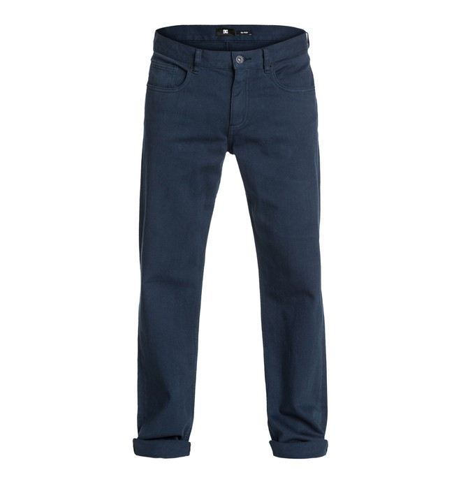 "0 Worker Relaxed Color 32"" Inseam Jeans  EDYDP03000 DC Shoes"