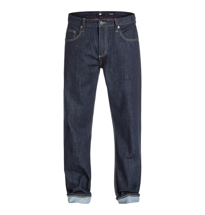"0 Worker Relaxed 32"" Inseam Jeans  EDYDP03001 DC Shoes"