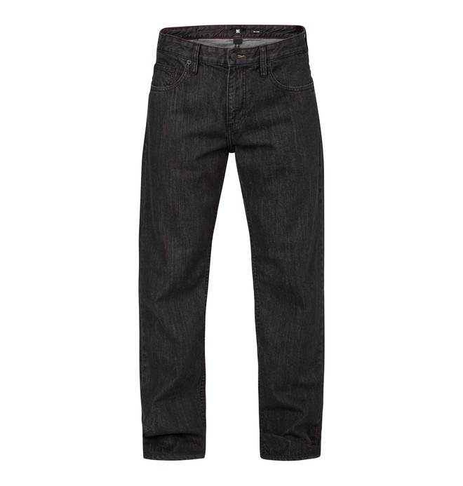 Worker Relaxed Black Rinse 32 Noir EDYDP03021