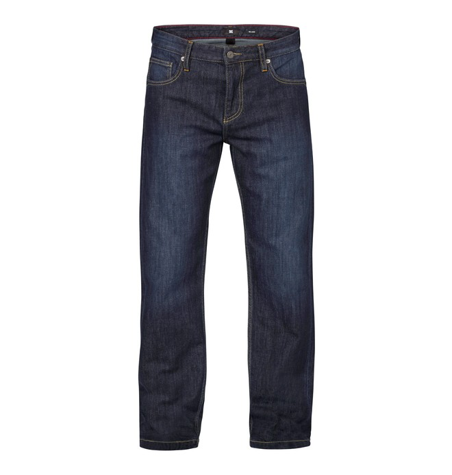 """0 Worker Relaxed Washed 34"""" Inseam Jeans  EDYDP03031 DC Shoes"""