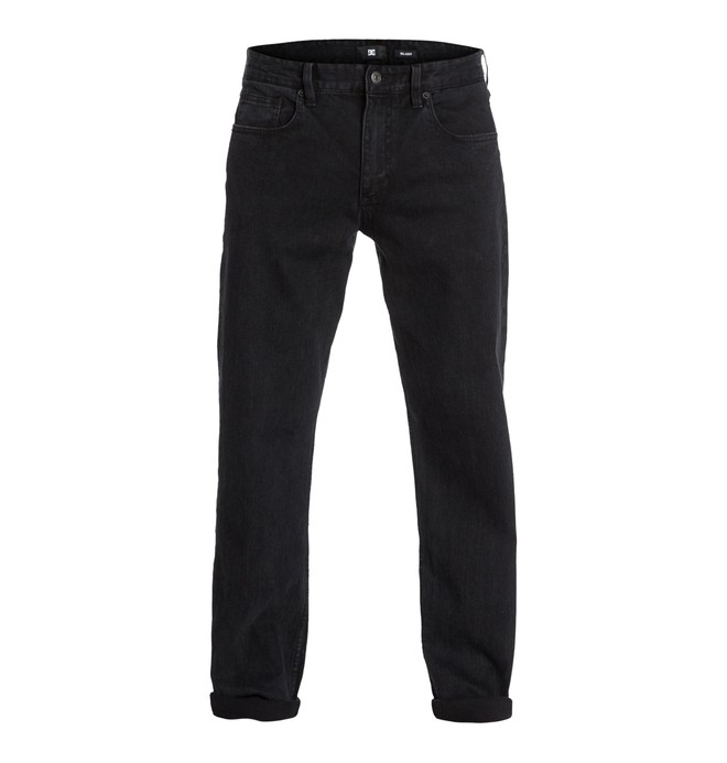 """0 Worker Relaxed Washed 34"""" Inseam Jeans  EDYDP03033 DC Shoes"""