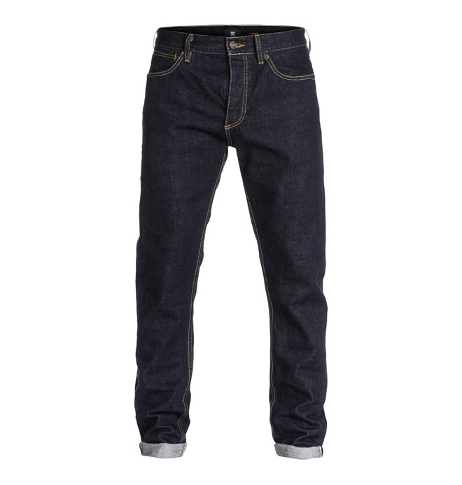 "0 Worker Selvedge Taper 34"" Inseam Jeans  EDYDP03037 DC Shoes"