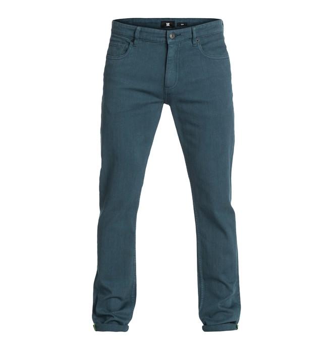 "0 Worker Slim Color 34"" Inseam Jeans  EDYDP03042 DC Shoes"