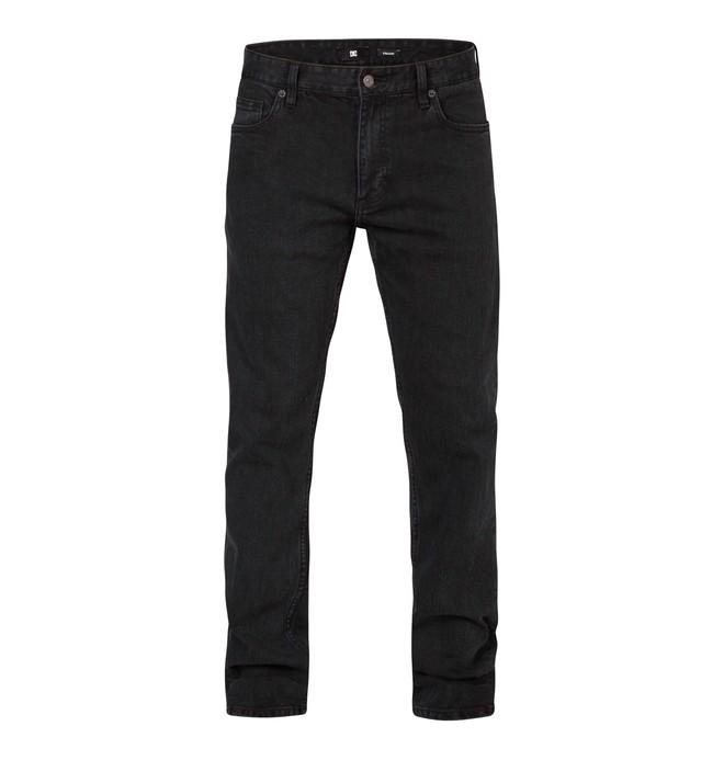 "0 Men's Worker Slim Washed 34"" Inseam Jeans  EDYDP03044 DC Shoes"