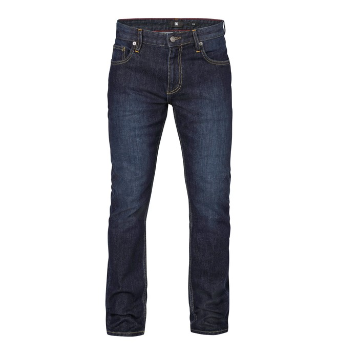 """0 Worker Slim Washed 30"""" Inseam Jeans  EDYDP03045 DC Shoes"""