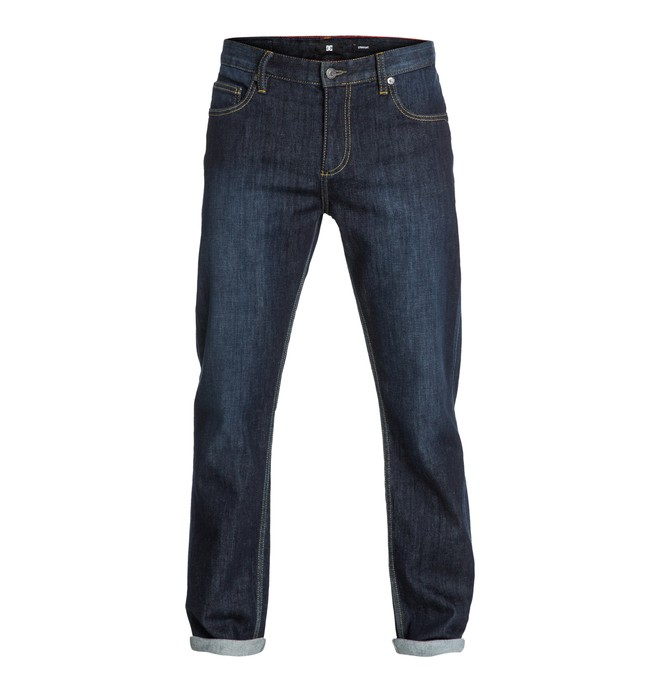 """0 Worker Straight Washed 30"""" Inseam Jeans  EDYDP03052 DC Shoes"""