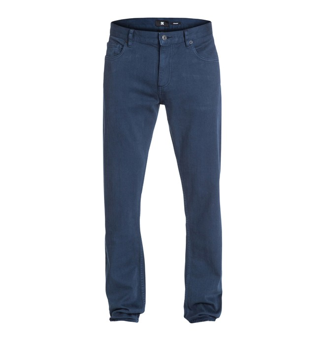 """0 Worker Straight Color 34"""" Inseam Jeans  EDYDP03058 DC Shoes"""