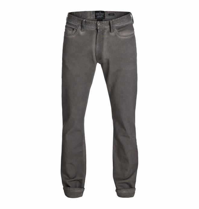 "0 Men's Cole Cult Enzyme Straight Gray 32"" Jeans  EDYDP03066 DC Shoes"