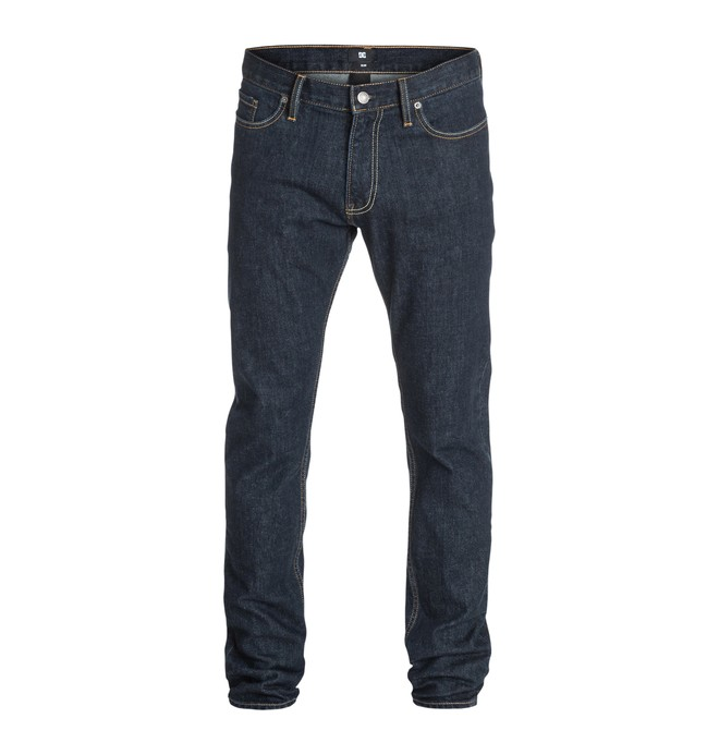 "0 Men's Worker Basic 32"" Slim Fit Jeans  EDYDP03068 DC Shoes"
