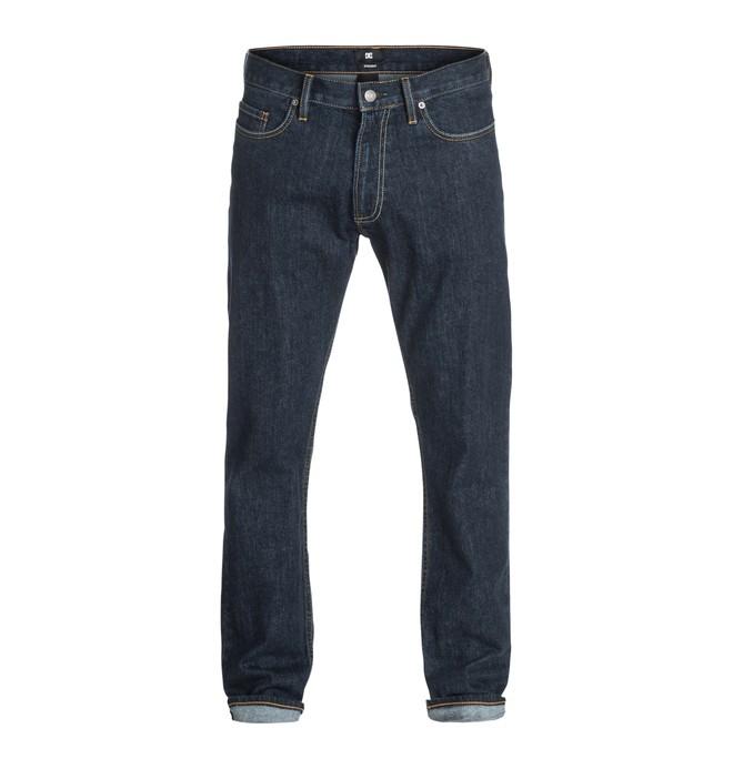 "0 Men's Worker Basic 32"" Straight Fit Jeans  EDYDP03069 DC Shoes"