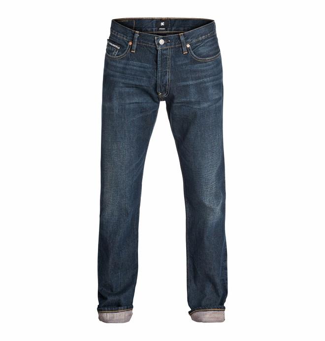 0 Men's Worker Straight Jean Light Stone 32 Jeans  EDYDP03072 DC Shoes