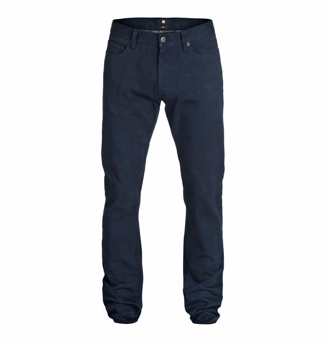 0 Men's Worker Elevated Color Slim Jean 32 Jeans  EDYDP03074 DC Shoes
