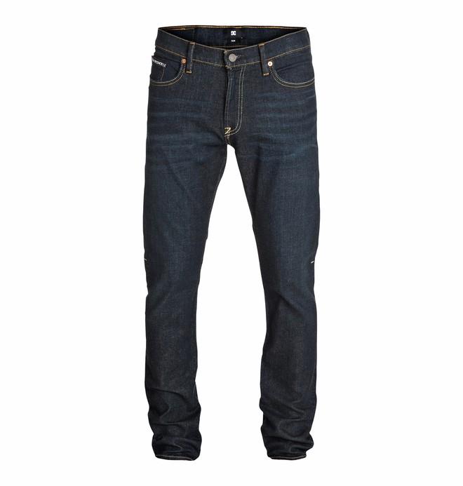 0 Men's Worker Slim Jean Dark Stone 32 Jeans  EDYDP03083 DC Shoes