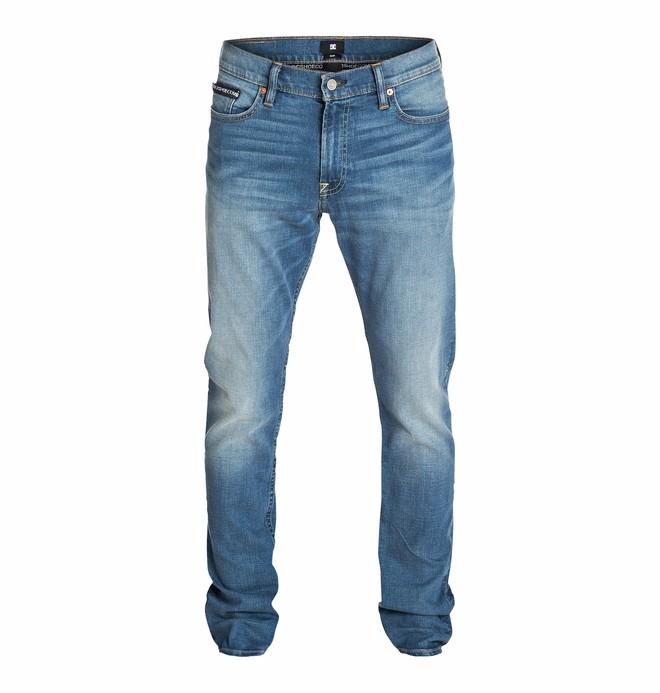 "0 Wkr Slim Heavy Stone Wash 34"" Inseam Jeans  EDYDP03093 DC Shoes"