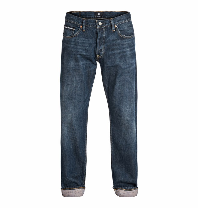 "0 Wkr Roomy Light Stone 34"" Inseam Jeans  EDYDP03107 DC Shoes"