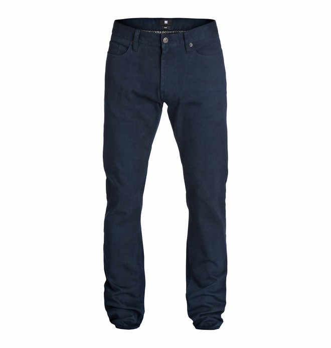 """0 Wkr Elevated Color Slim 34"""" Inseam Jeans  EDYDP03113 DC Shoes"""