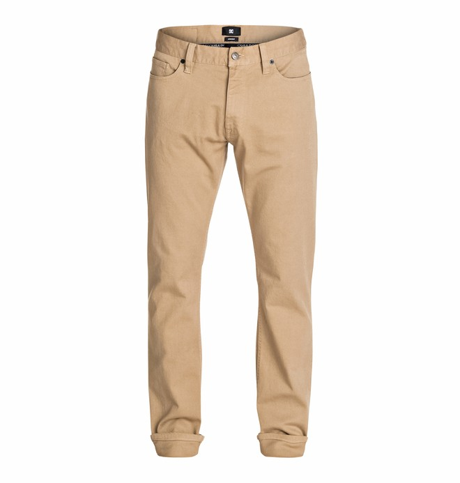 """0 Worker Elevated Color Straight 34"""" Inseam Jeans  EDYDP03116 DC Shoes"""