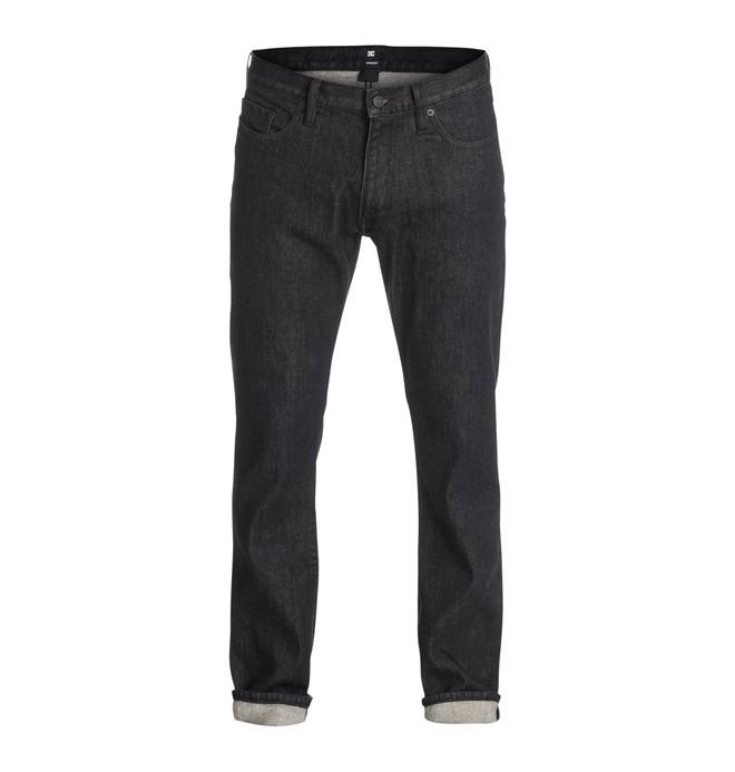 "0 Men's Worker Basic Straight Fit 34"" Jeans  EDYDP03128 DC Shoes"