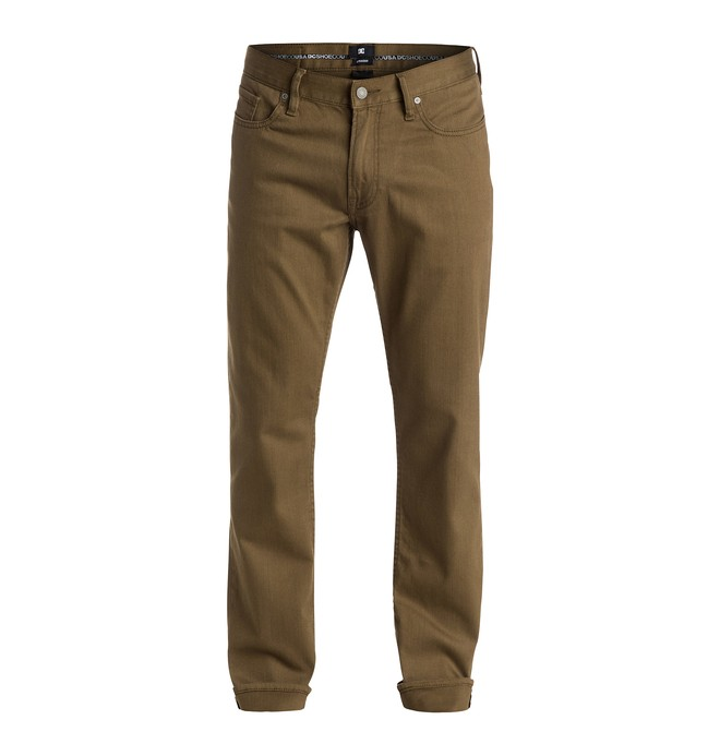 """0 Men's Color Straight Fit 32"""" Jeans  EDYDP03141 DC Shoes"""