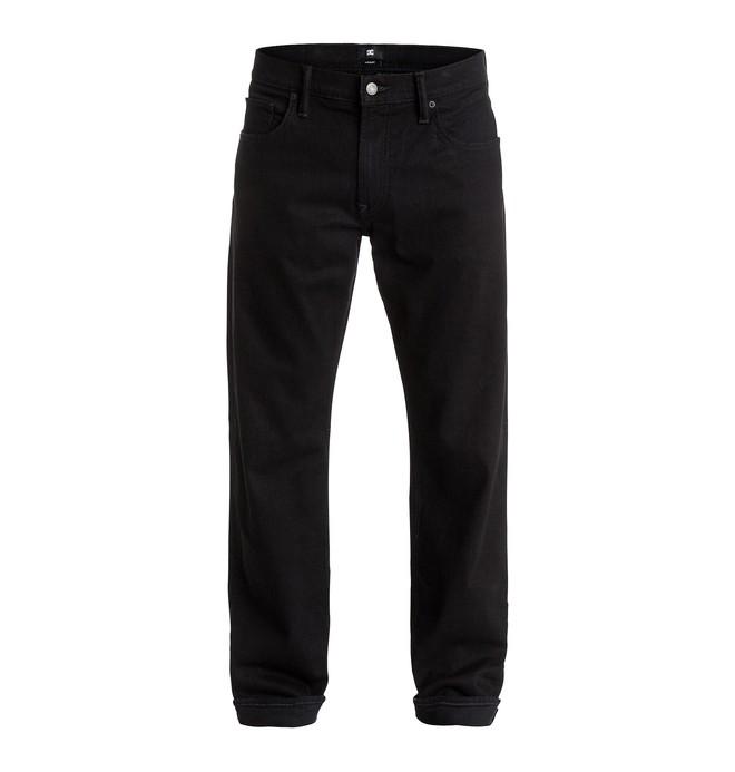 "0 Men's Worker Roomy Fit Black Rinse 34"" Jeans  EDYDP03187 DC Shoes"