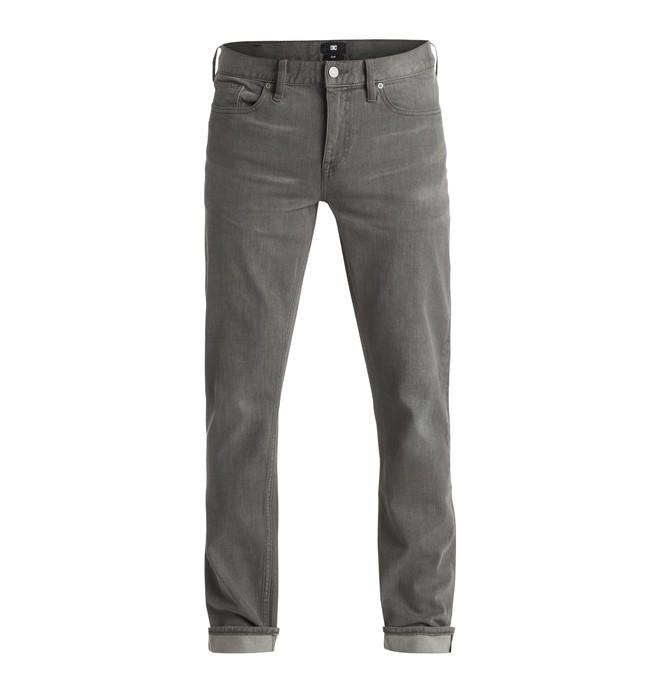 "0 Men's Washed Slim Fit 32"" Jeans  EDYDP03202 DC Shoes"