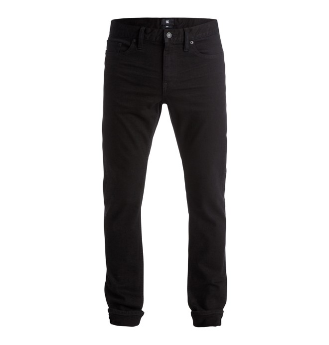 "0 Worker Slim Fit 32"" - Jeans Black EDYDP03212 DC Shoes"