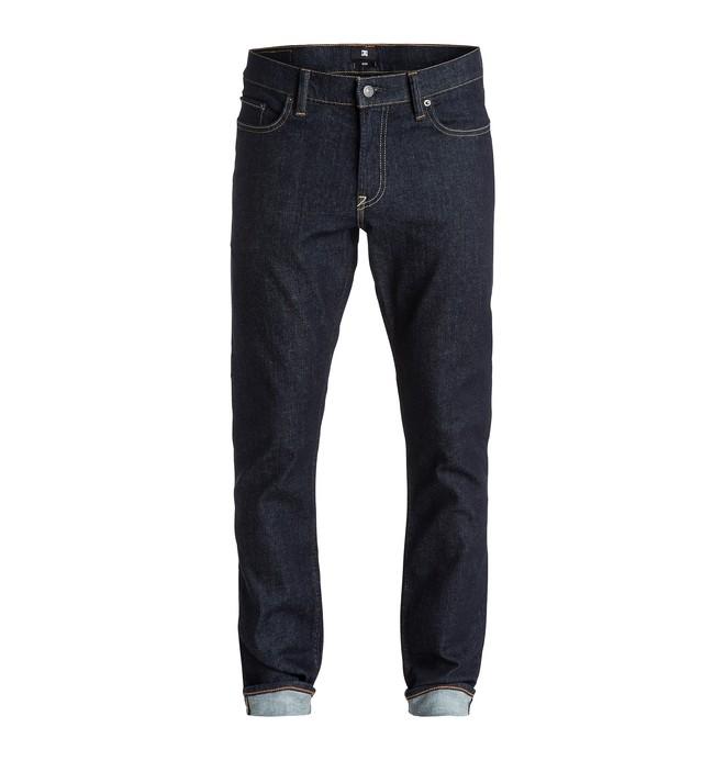 """0 Men's Worker Slim Fit 32"""" Jeans  EDYDP03214 DC Shoes"""