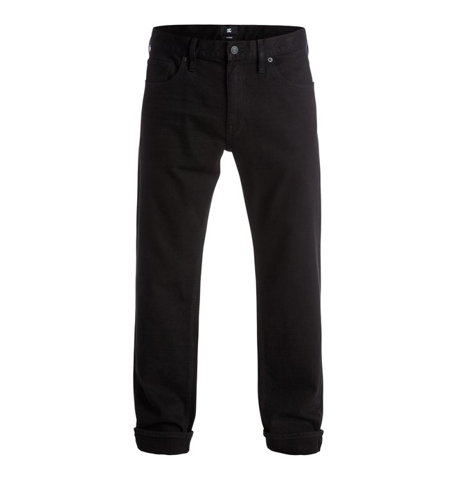 "0 Worker Roomy 32"" - Jeans Black EDYDP03220 DC Shoes"