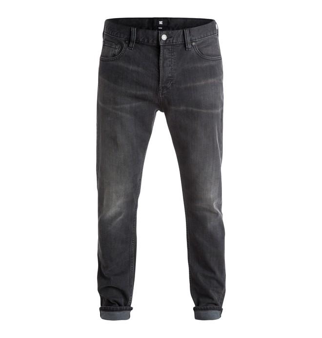 0 Men's Jean Medium Grey Taper Fit Jeans  EDYDP03224 DC Shoes