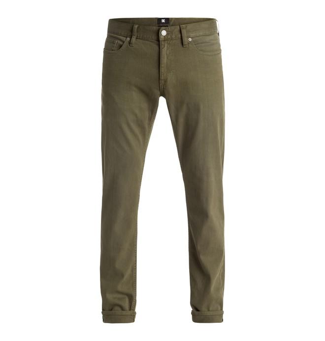 0 Men's Color Slim Fit Jeans  EDYDP03246 DC Shoes