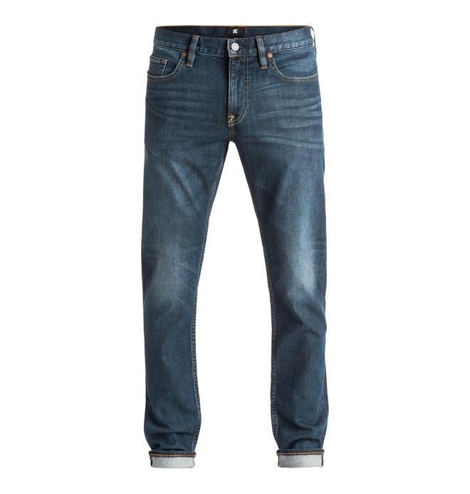 0 Men's Washed Medium Stone Slim Fit Jeans  EDYDP03252 DC Shoes
